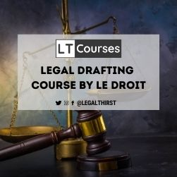 Legal Drafting Course by Le Droit